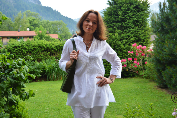 tunic, white on white, summer look, Taubert, Mango, amika Schmuck, jewellery, Lady of Style
