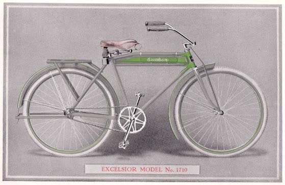 Vintage bicycle on grey background