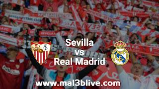 مشاهدة مباراة إشبيلية وريال مدريد اليوم في الدوري الأسباني