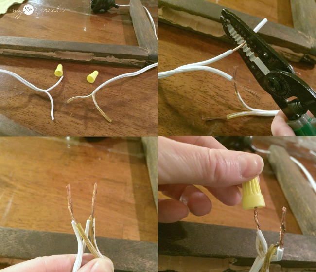 Diy plug in sconces from pendant lights my love 2 create how to make a pendant light into a plug in light aloadofball