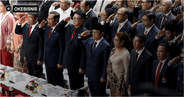 Ini dia daftar gaji pejabat negara Indonesia