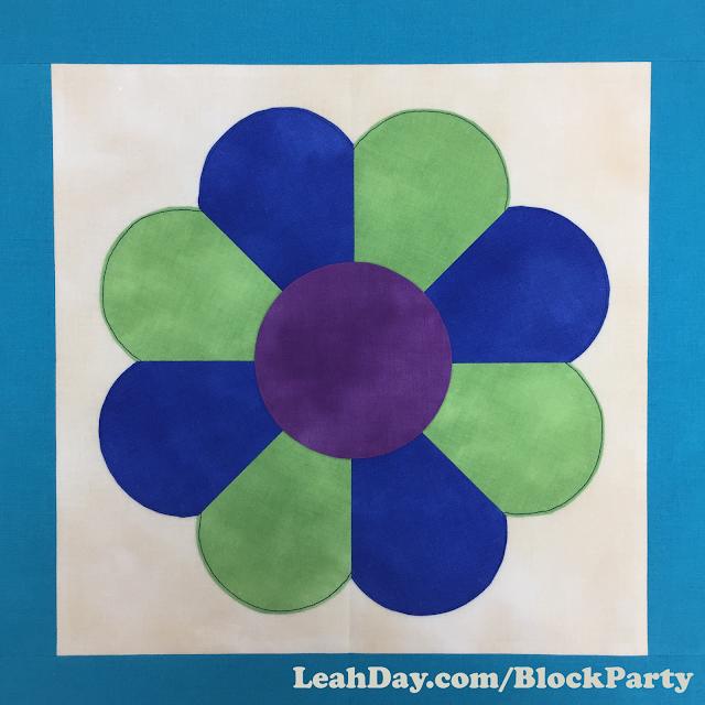 Dresden plate quilt block