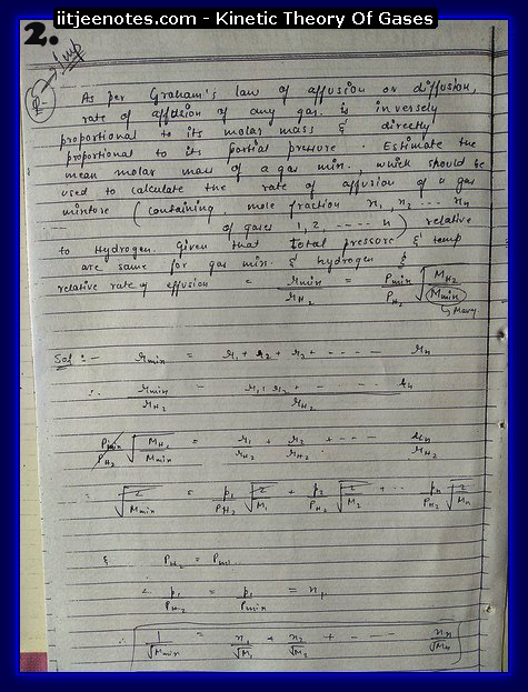 Kinetic Theory Of Gases2