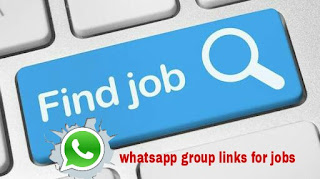 whatsapp group links for jobs