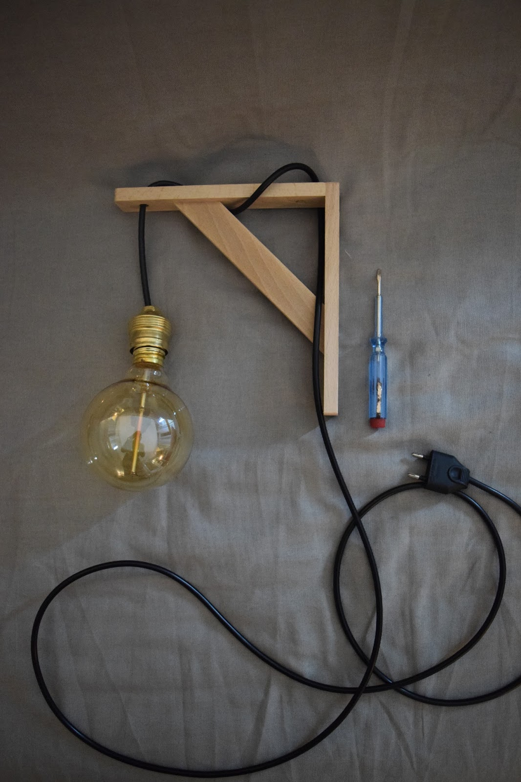 cheap pour ma part juai mis une lampe vintage avec un. Black Bedroom Furniture Sets. Home Design Ideas
