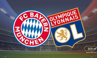 بث مباشر مباراة بايرن ميونخ و أولمبيك ليون فى دوري ابطال اوروبا علي قناة بين سبورت 1