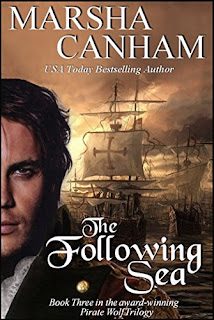 The Following Sea (Pirate Wolf series Book 3) by Marsha Canham