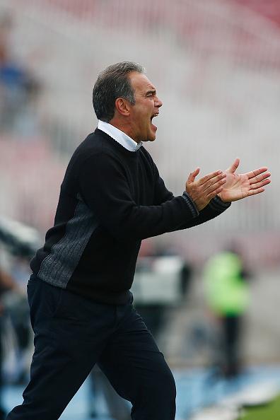 Martín Lasarte, entrenador de selección chilena de fútbol