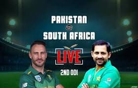 South Africa vs Pakistan 2nd ODI highlight