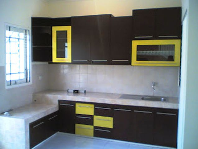Model Dapur Minimalis Rumah Type 36 Sederhana