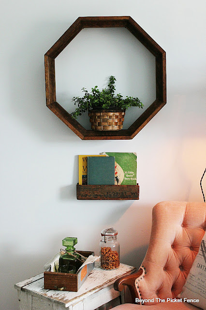 Octagon Plant Shelf