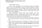 Surat Edaran Uji Keterbacaan Instrumen AKMI