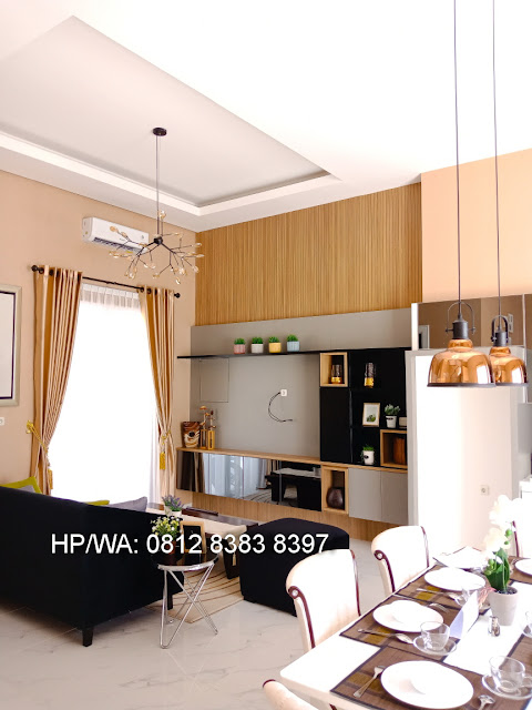 Ruang Keluarga Rumah Mewah Termurah Siap Huni Villa Casa Royale Di Kompleks Royal Sumatera Medan Sumatera Utara