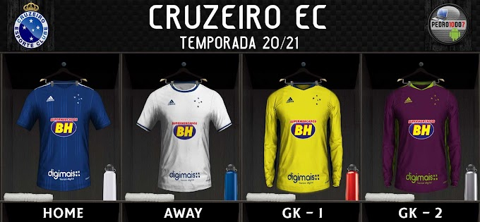 KIT CRUZEIRO 2020 - FIFA16 TO 20
