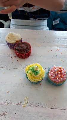 Kindergeburtstag Motto Cupcakes