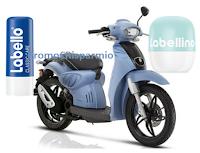 Logo Labello Kiss And Go : vinci scooter Scarabeo! Anticipazione