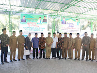 Kakanwil Kemenagsu Resmikan Desa Binaan Penyuluh Agama Islam