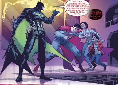Batman que ríe venció al Superman de su mundo