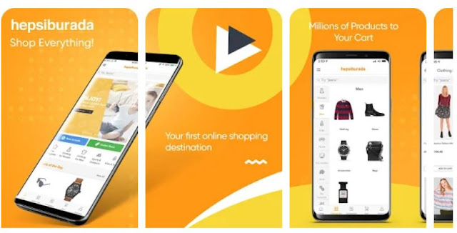 Download & Install Hepsi - Online Shopping Mobile App