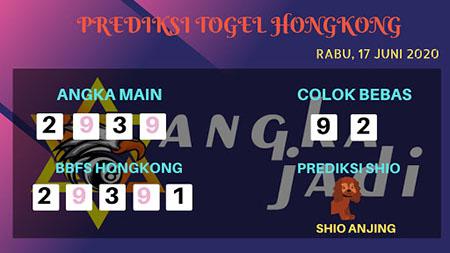 Prediksi HK Rabu 17 Juni 2020 - Bocoran Angka