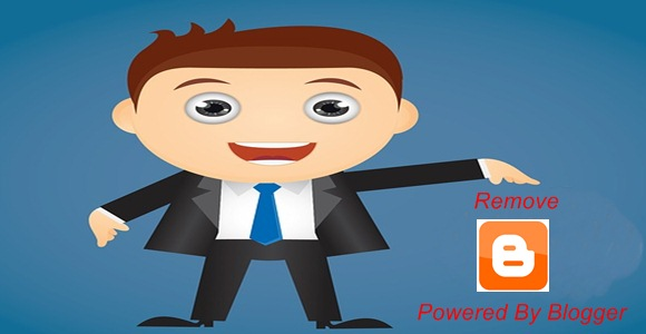 Remove Powered By Blogger From Blog