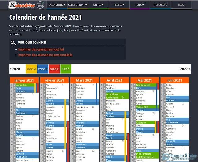 Kalendrier : l'outil gratuit pour créer son calendrier personnalisé en ligne