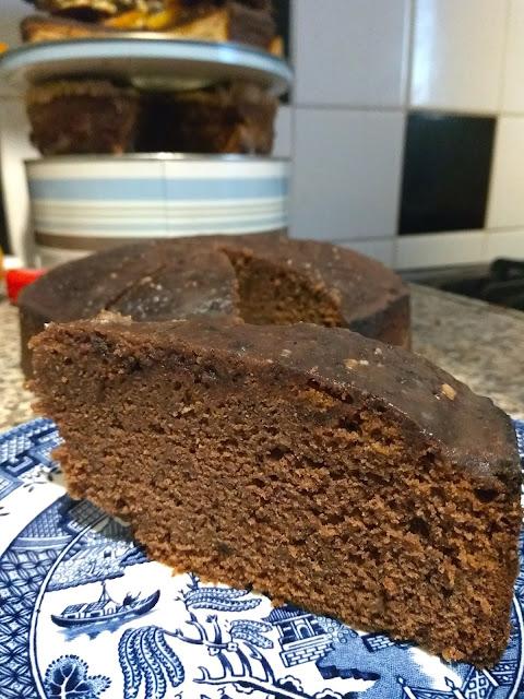 murzynek - polish chocolate cake