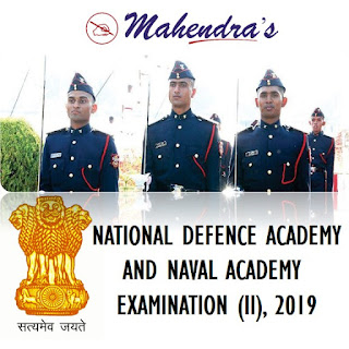 UPSC | National Defence Academy and Naval Academy Examination (II), 2019 | Notification