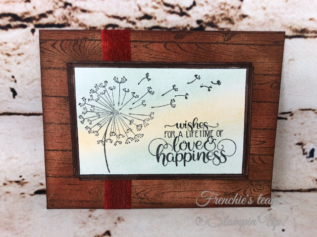 Dandelion Wishes, Frenchie' Team, Stampin'Up!, New release stamp set in the Annual catalog,