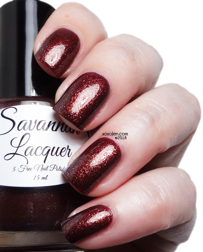 xoxoJen's swatch of Savannah Lacquer Autumnal Equinox