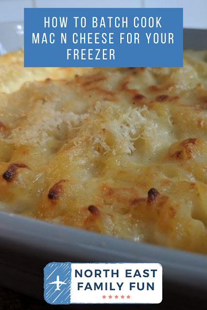 How To Batch Cook Mac n Cheese For Your Freezer