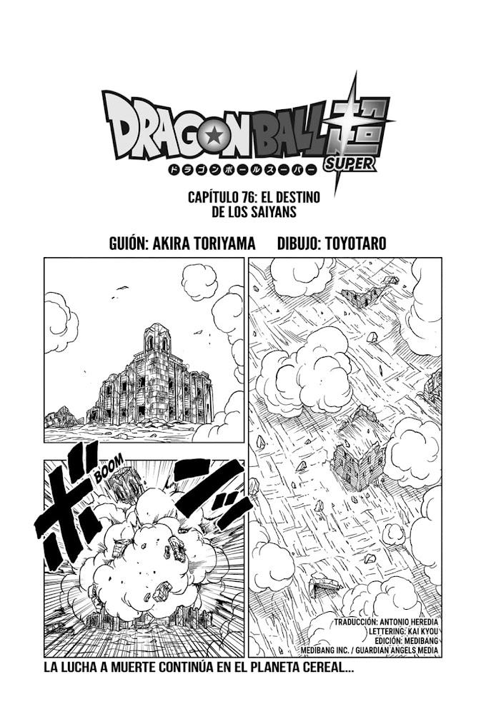 DBS Manga 76 Español