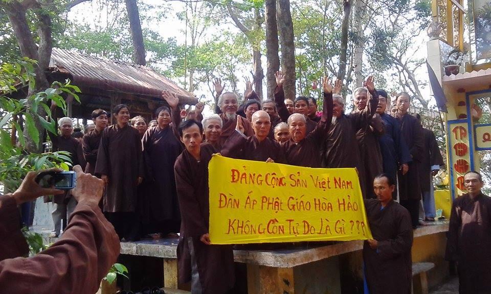 Image result for Phật Giáo Hòa Hảo bị đàn áp dã man