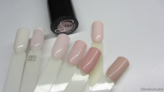 Baseveheinails Swatches Semilac My Story Collection 155 159