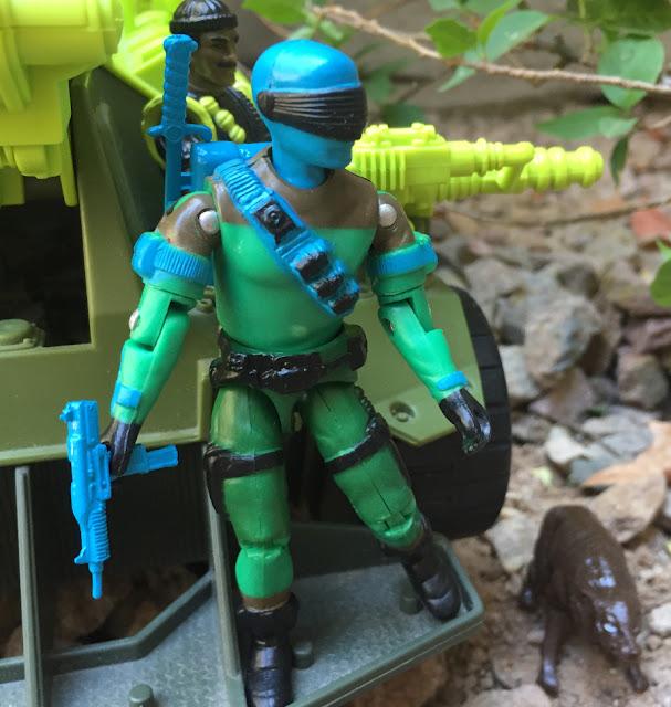 2019 Slaughters Marauders Snake Eyes, 1985, V2, 1988 Sgt. Slaughter, 1993 Monster Blaster APC, Mega Marines