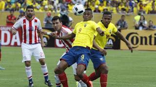 Paraguay vs Ecuador en Eliminatorias Sudamericanas 2017