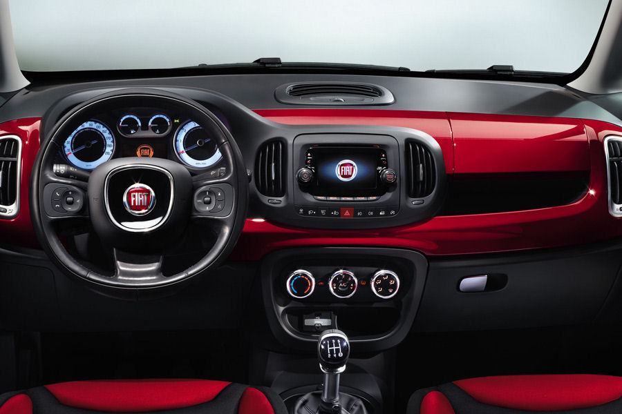 Fiat 500 Gucci >> 5ooblog | FIAT 5oo: New Fiat 500 L interior (official pics)
