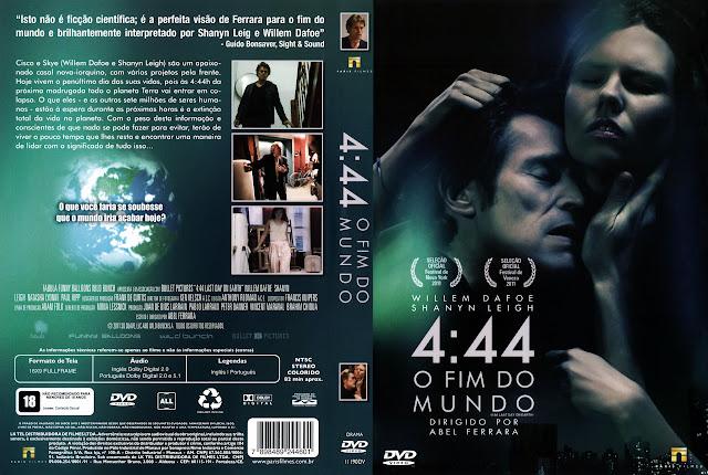 Capa DVD 4:44 O FIM DO MUNDO