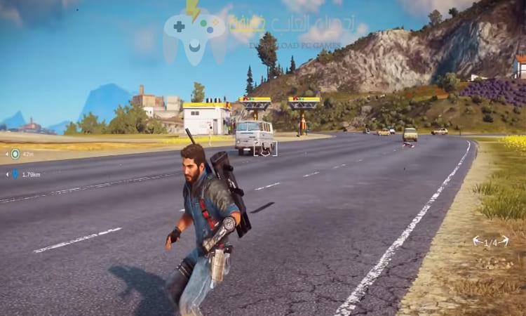 تحميل لعبة Just Cause 3 للكمبيوتر مضغوطة برابط مباشر