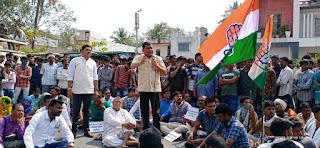बडवानी भाजपा जिलाध्यक्ष सोनी के खिलाफ एफआईआर की मांग को लेकर कांग्रेस ने तीन घंटे तक हाईवे मार्ग पर किया चक्काजाम