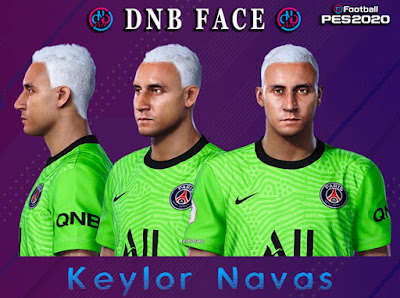 PES 2020 Faces Keylor Navas by DNB