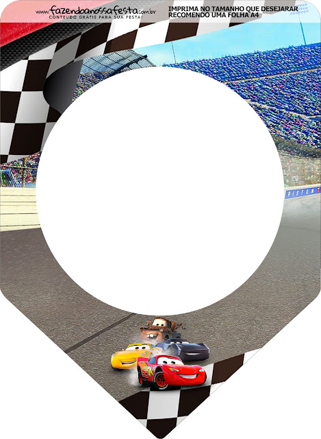 Cars 3: Free Party printables.