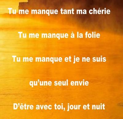 Petits Mots Pour Dire Tu Me Manque Messages Et Sms Damour