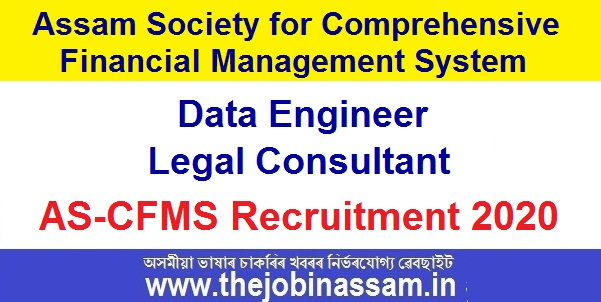AS-CFMS Recruitment 2020: Apply Online for Data Engineer and Legal Consultant