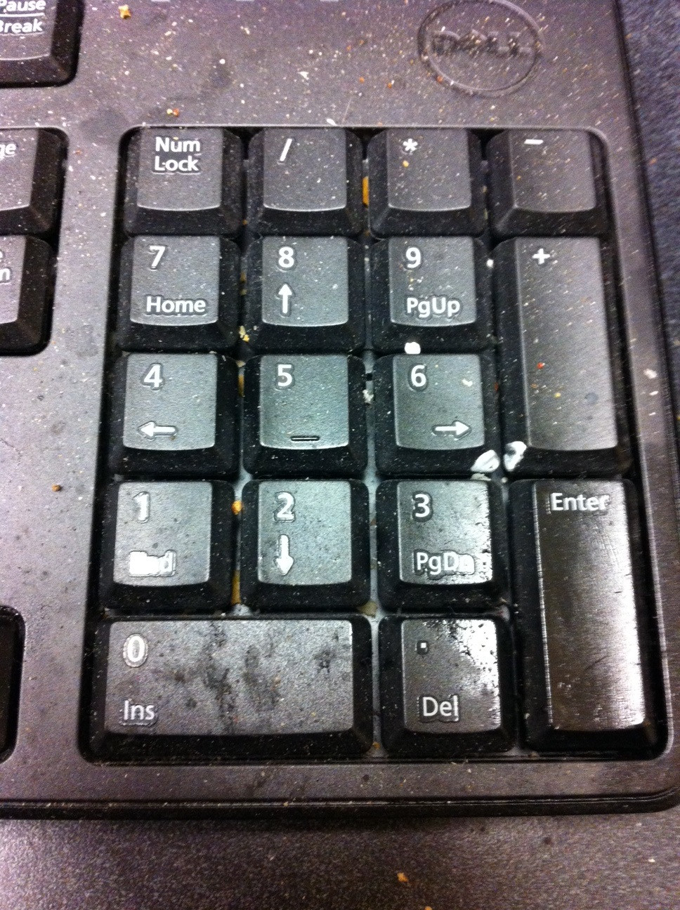 k@Doctor's keyboard, he touches patients with these hands