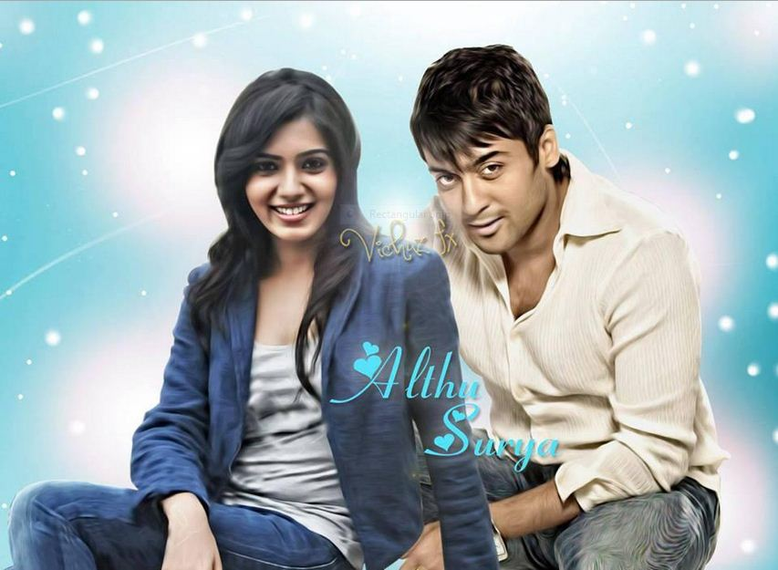 Surya samantha fan made poster actor surya masss movie - 24 surya images ...