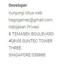 Cara hapus akun hago melalui contact support atau developer hago