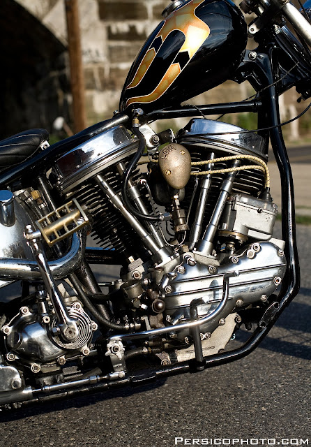 Harley Davidson Panhead 1963 By Love Cycles Hell Kustom