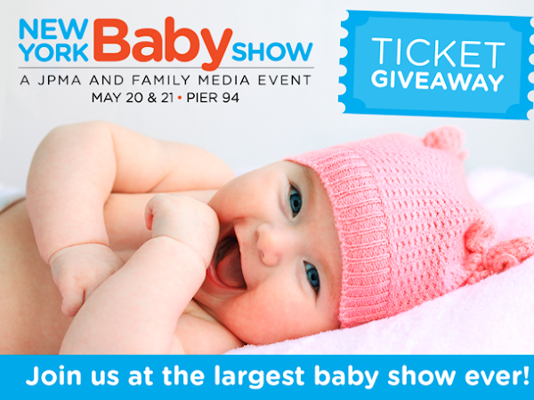 Giveaway - Free Tickets To The New York Baby Show 2017  #MTBloggerLounge
