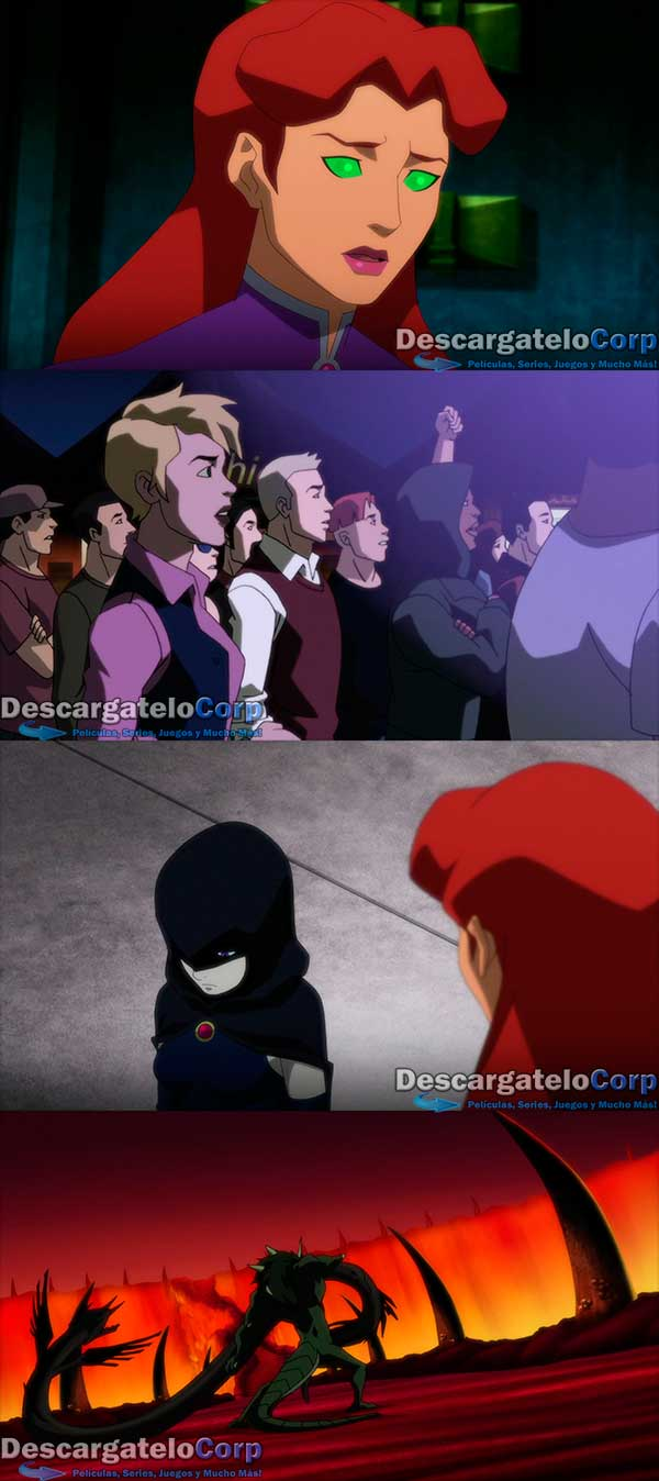 Justice League vs Teen Titans HD 1080p Latino